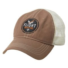 Flight Outfitters Brown Trucker Hat