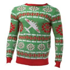 B-17 Flying Fortress Christmas Sweater