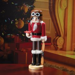 "14"" Fly Boy Santa Nutcracker"