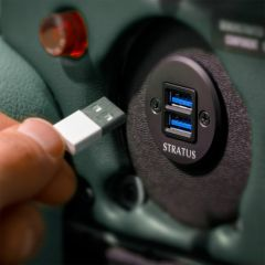 Stratus Power™ Certified USB Charging Port