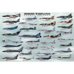 Genealogy Modern Warplanes 1,000 Piece Puzzle
