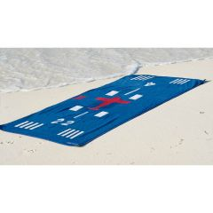 Runway Beach Towel