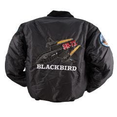 Embroidered SR-71 Flight Jacket
