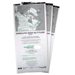 Canadian High Altitude En Route Chart Set