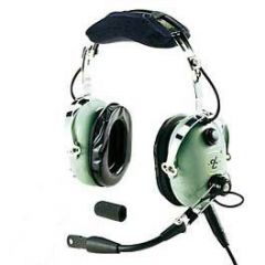 David Clark H10-60H Headset (for Helicopter - Coiled Cord)