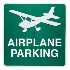 Custom Airport Signs (Green - 24 inch x 24 inch )
