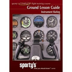 Sporty's Instrument Ground Lesson Guide