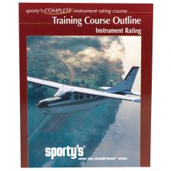 Sporty's Instrument Rating Training Course Outline and Syllabus
