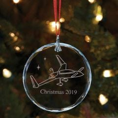2019 Sporty's Christmas Ornament