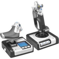 Logitech X52 Flight Stick and Throttle