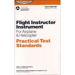Flight Instructor Instrument PTS (Airplane/Helicopter)