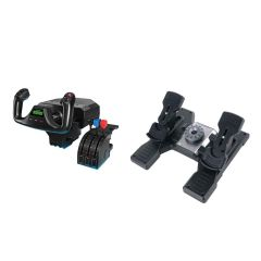 Saitek Flight Simulator Yoke and Rudder Pedals