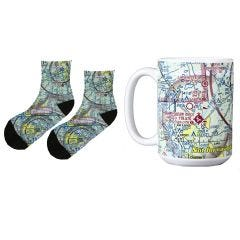 Custom Chart Mug and Socks