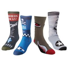 Warbirds of WWII Sock Bundle (4 pairs)