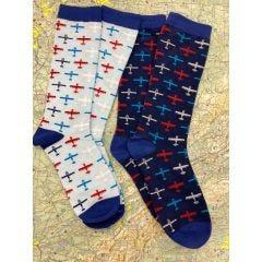 Airplane Trainer Socks Bundle