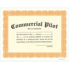 Commercial Pilot Certificate