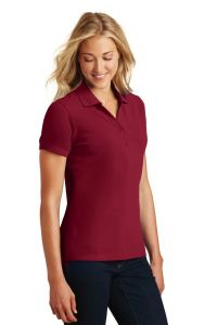 Eddie Bauer Ladies Cotton Pique Polo  Shirt