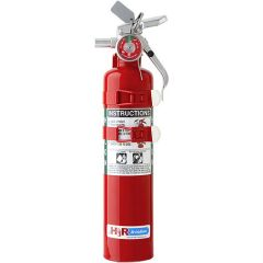 Halon Fire Extinguisher (4.9 lb. gross weight; 5B:C rating)