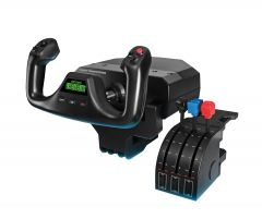 Logitech G (Saitek) Flight Simulator Yoke with Throttle Quadrant