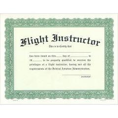 Flight Instructor Certificate