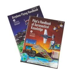 Airplane Flying Handbook and Pilot's Handbook of Aeronautical Knowledge Combo (hardcover)