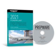 A & P Powerplant Prepware (CD-ROM - ASA)