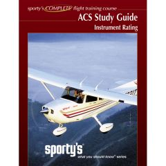Sporty's Instrument Rating Course ACS Study Guide