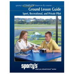 Sporty's Sport/Recreational/Private Pilot Ground Lesson Guide