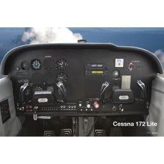 172 Lite Cockpit Poster