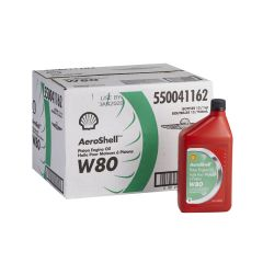 W80 SAE Aviation Oil (Case)