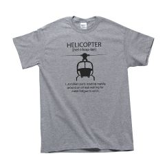 Helicopter T-Shirt