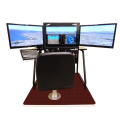 Redbird Flight Simulator Horizon Side Monitors