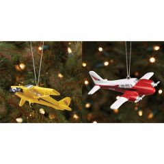 Set of Classic Aviation Ornaments