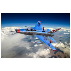 """Gen. Chuck Yeager's """"City of Barstow"""" Giclee Print on Archival Canvas"""