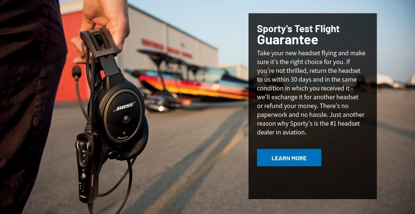 Sporty's Test Flight Guarantee