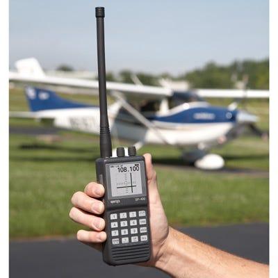 SP-400 hand-held NAV/COM radio