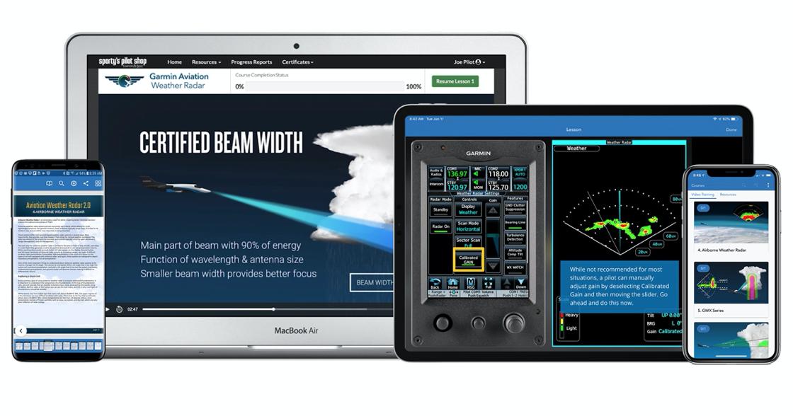 Garmin Radar Course