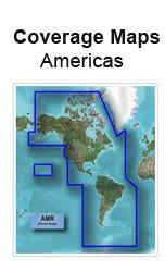 americas map