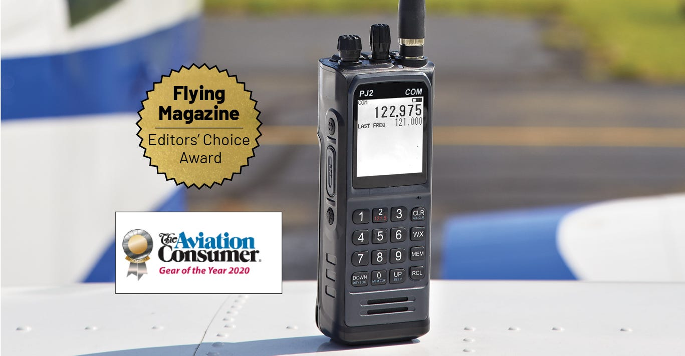 PJ2 Flying Magazine Editor's Choice Award