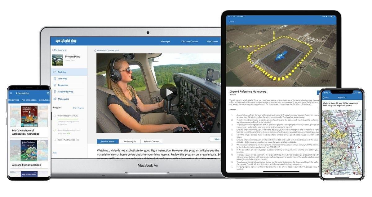 2021 Pilot Training app