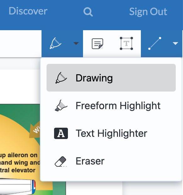 Annotation tool settings