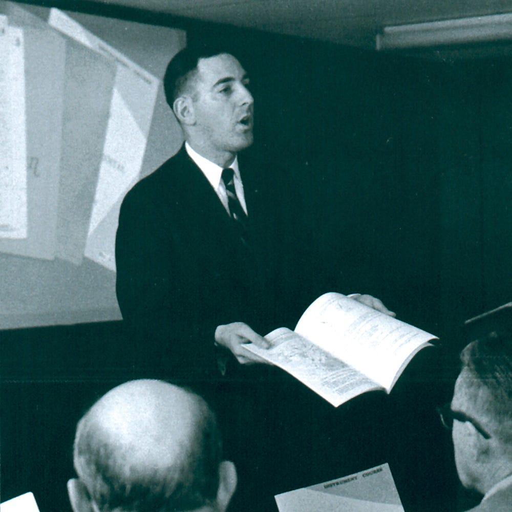 Hal Shevers teaching