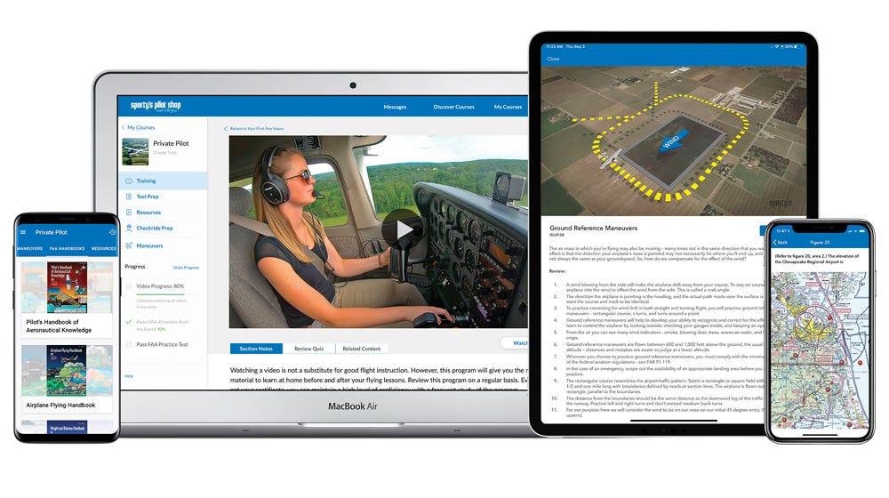 Pilot Training app