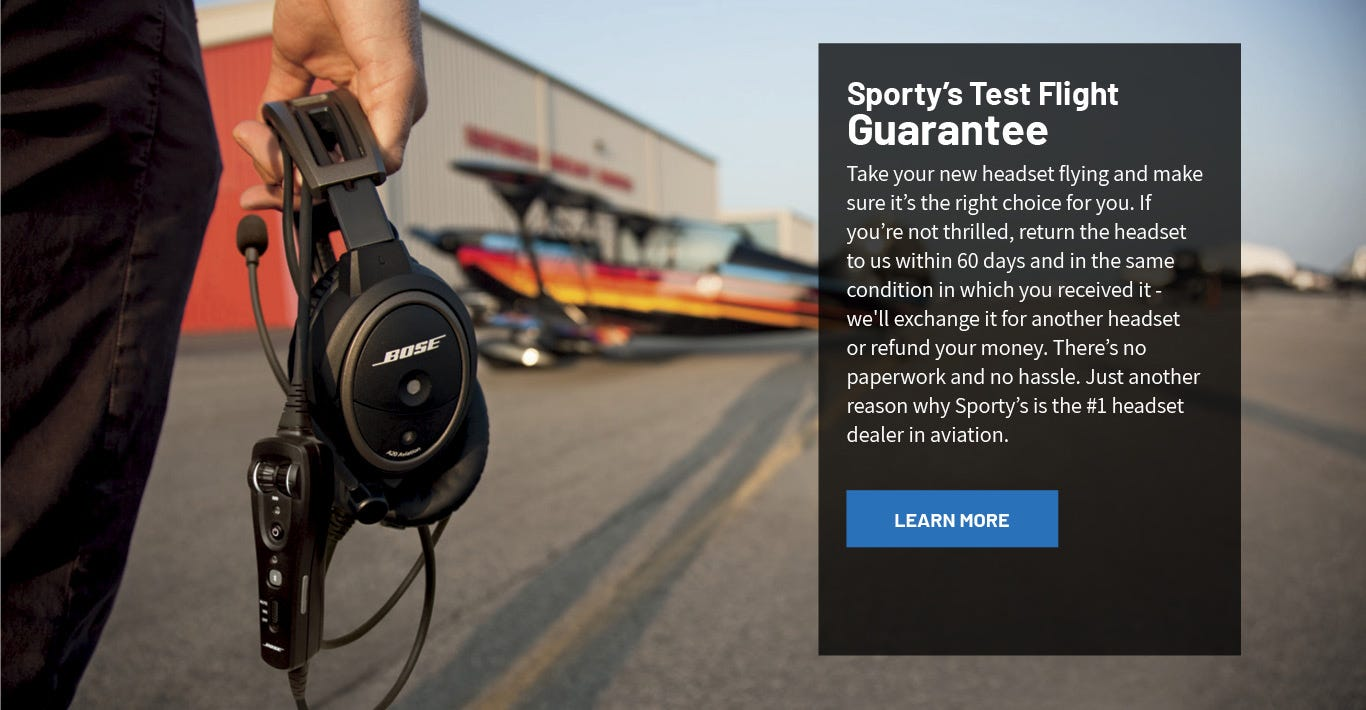 Sporty's Test Flight Guarantee