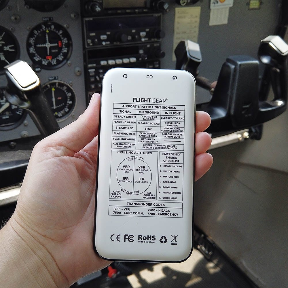 Flight Gear battery pack (small)