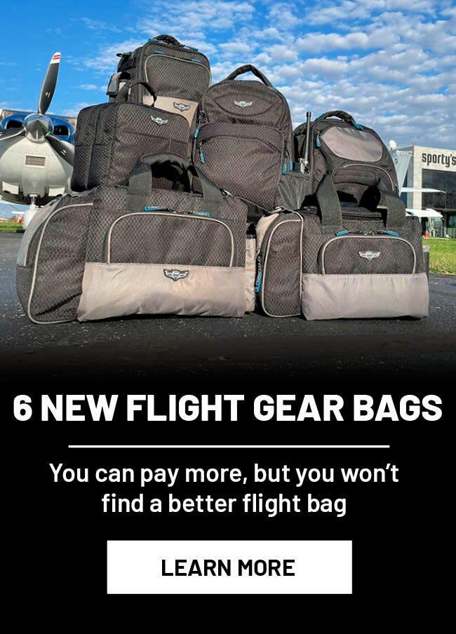 New Flight Gear Bags