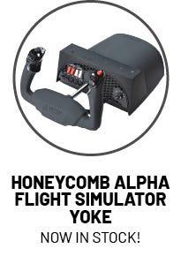 Honeycomb Alpha Flight Sim Yoke