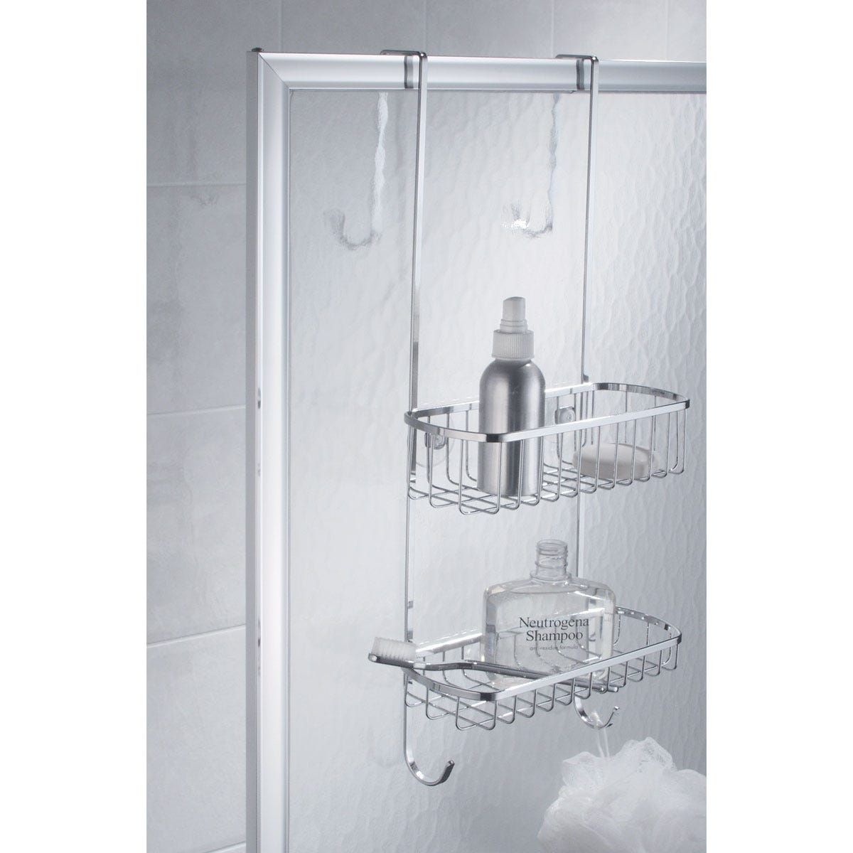 More Photos Over-the-Door Shower Caddy - from Sporty\u0027s Tool Shop