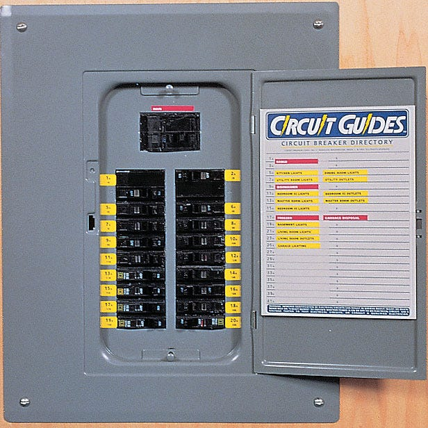 circuit panel id chart template