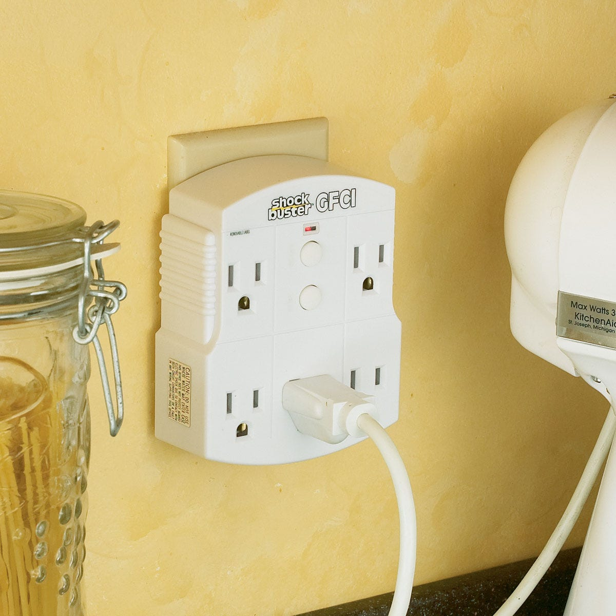 Ground Fault Outlet Gfci Plug In From Sportys Tool Shop Equipped With Interrupter Gfi Outlets Or Circuit More Photos